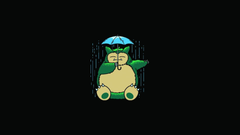 Minimalistic geek nerd snorlax solid simplistic simple wallpapers