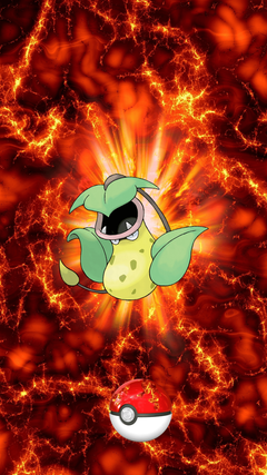 Fire Pokeball Victreebel Utsubot Weepinbell
