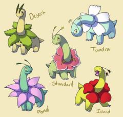 Pokemon Subspecies Meganium by CoolPikachu29