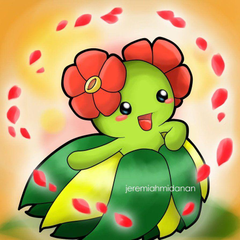 Pokemon Bellossom by MayaIdanan