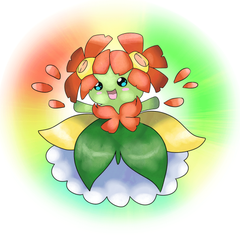 Mega Bellossom by Shadesofcool