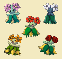 PokemonSubspecies Bellossom by CoolPikachu29