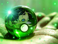Celebi Pokeball by Blazestar39503