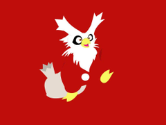 Delibird Wallpapers Red by Xebeckle