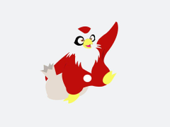 Delibird White Wallpapers by Xebeckle