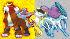 Entei Raikou and Suicune Wallpapers by Glench