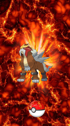Entei Wallpapers Phone Wallskid Pokemon Wallpapers Iphone 7 6 For PC