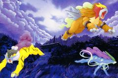 Entei Suicune Raikou Pokémon HD Wallpapers Desktop and Mobile