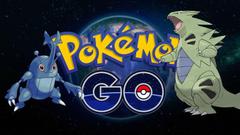 Pokemon Go Catching Heracross and Tyranitar