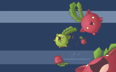 Hoppip Wallpapers by AnimeVSReality