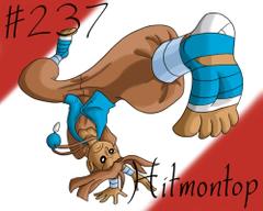 Pokemon Gijinka Project 237 Hitmontop by JinchuurikiHunter