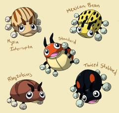 PokemonSubspecies Ledyba by CoolPikachu29