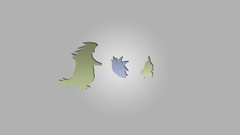 Tyranitar Pokémon Larvitar Pokemon Second Generation Minimalism