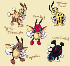 PokemonSubspecies Ledian by CoolPikachu29