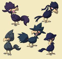 PokemonSubspecies Murkrow by CoolPikachu29