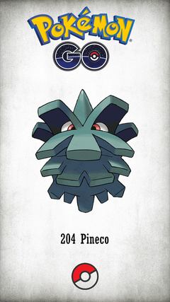 Character Pineco