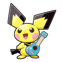 Pokemon ranger Guardian signs image Ukulele Pichu HD wallpapers