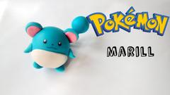 Pokemon Marill Polymer Clay Tutorial Porcelana Fría