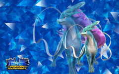 Suicune Pokken Tournament Wallpapers by SaraWolfArt