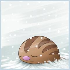 Sleepy Swinub by Twime777