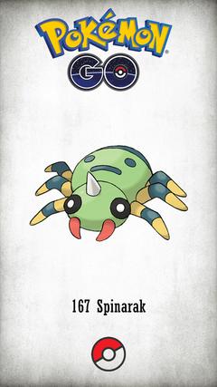 Character Spinarak