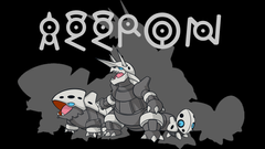 Aggron Backgrounds by JCast639