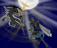 Absol vs Lucario image Absol vs Lucario HD wallpapers and