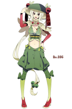 human version gijinka pokemon breloom