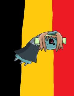 Belgium the Beldum by GrayComputer