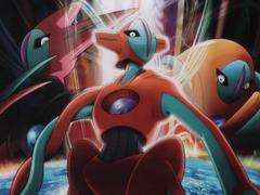Cartoon Excellence Pokemon Destiny Deoxys