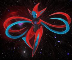 cosmic virus deoxys by Elsdrake