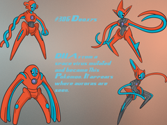Deoxys GIMP Wallpapers by Queen