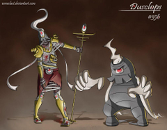 Dusclops Concept by Wraeclast