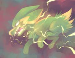 Electrike used Thunder Fang by yassui
