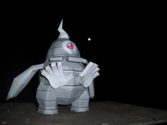 Dusclops papercraft by TimBauer92