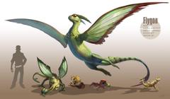 arvalis cacnea dwebble flygon pokemon realistic sandshrew scraggy