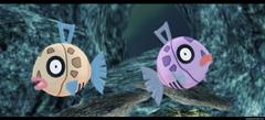 Pokemon MMD Feebas by kaahgomedl