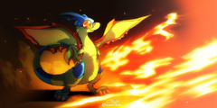 Stand brave Flygon by super