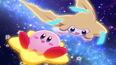 Two Stars Crossover Kirby Pokmon Jirachi Pokmon Video Game HD