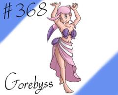 Pokemon Gijinka Project 368 Gorebyss by JinchuurikiHunter