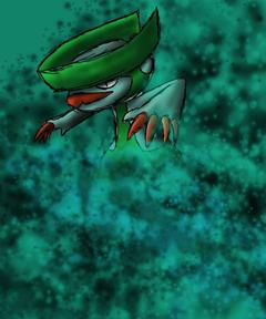 Pokemon no 271 Lombre by Kyuubi0017