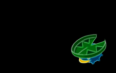 Pokemon black background Lotad