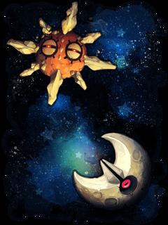Solrock Lunatone by Stormful deviantart on deviantART