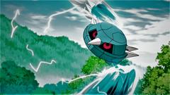 Alain s Metang using Metal Claw by Pokemonsketchartist
