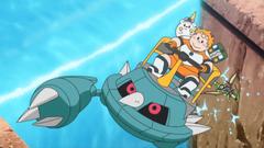 Poké Ride s Metang