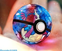 Milotic pokeball by Blazestar39503
