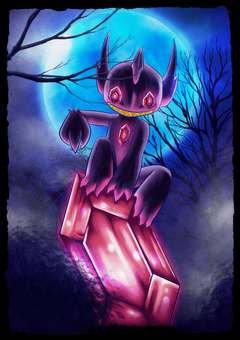 Mega Sableye by Lazy