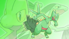 Treecko Grovyle and Sceptile Wallpapers by Glench