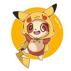 Spinda Pikachu hoodie