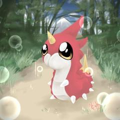 My Little Wurmple by SpiderShii